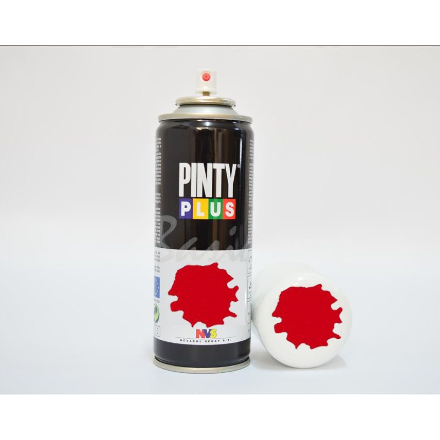 PINTURA SPRAY 200 ml ROJO VIVO PINTY 3020